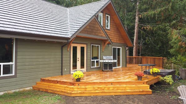 House addition and deck